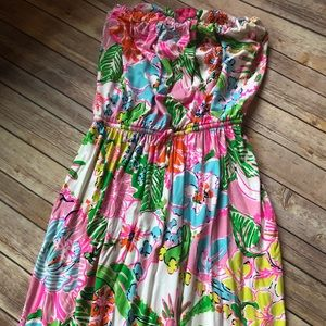 Lilly Pulitzer maxi dress-nwot